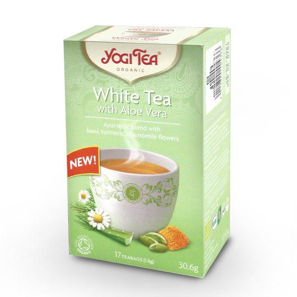 Čaj bijeli sa aloe verom Yogi 30,6 g