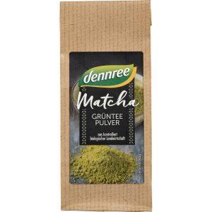 Dennree zeleni čaj matcha u prahu bio probava mršavljenje metabolizam izgaranje kalorija kofein tlak smoothie mliječni napitak