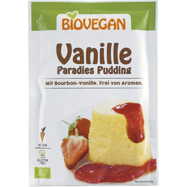 PUDING OD VANILIJE U PRAHU BIOVEGAN 31 g puding vanilija bio eko veganski biobio tvornica zdrave hrane