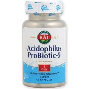 ACIDOPHILUS PROBIOTIC-5 – 60 ct