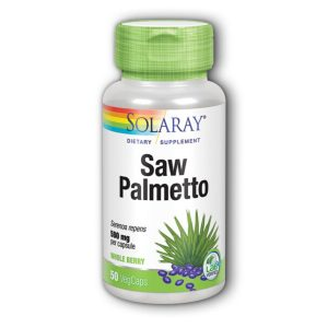 SAW PALMETTO BERRIES 500 mg SOLARAY