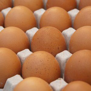 Jaja iz svježeg uzgoja, domaće