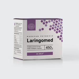 Laringomed – Med s kaduljom i mentom za grlo 450g