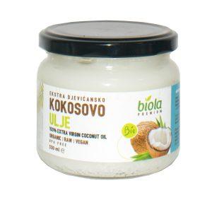 kokosovo ulje ekstra djevičasko biola nutrigold tvornica zdrave hrane bio