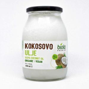 Kokosovo ulje bez mirisa biola