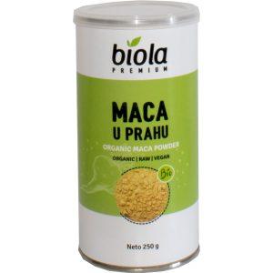 MACA U PRAHU RAW 250 g BIOLA bio organski tvornica nutrigold nutrisslim peru