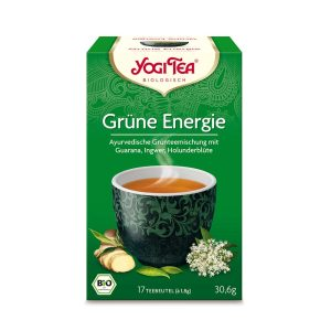 Čaj zeleni za energiju Yogi 30,6 g