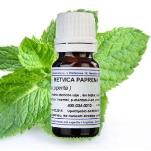METVICA PAPRENA, eterično ulje, 10 ml Mentha x piperita AROMARA