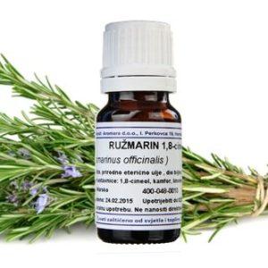 RUŽMARIN, 1,8 cineol, eterično ulje, 10 ml Rosmarinus offici AROMARA