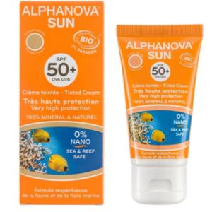 Alphanova SUN Tonirajuća krema SPF50+ 50 g