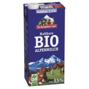 Alpsko mlijeko 3,5% Berchtesgadener Land 1 l mlijeko bio domaće