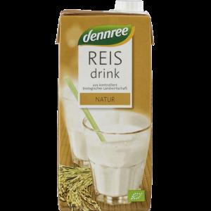NAPITAK OD RIŽE NATURAL DENNREE 1 l rižino mlijeko bio tvornica