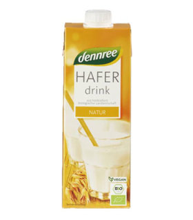 NAPITAK OD ZOBI DENNREE 1 l zobeno mlijeko bio tvornica nutirgold