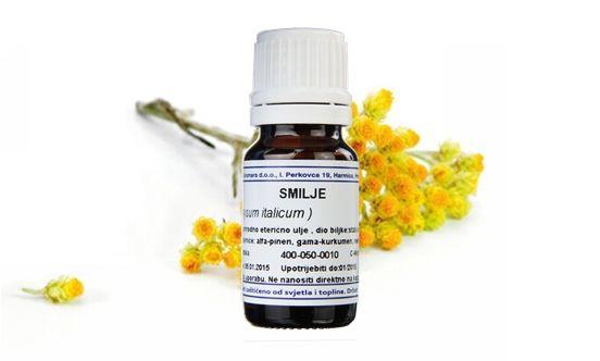 SMILJE, 100% čisto eterično ulje smilja, 2 ml aromara