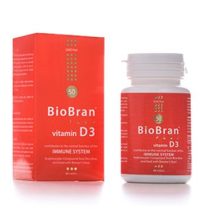 BIO BRAN PLUS VITAMIN D3 90TBL
