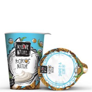 JOGURT OD KOKOSA NATUR MYLOVE-MYLIFE 125 g