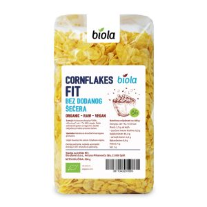 CORNFLAKES FIT -BIO- 500 g BIOLA