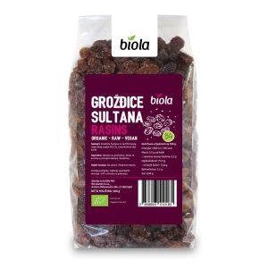 "GROŽĐICE SULTANA ""SULTANAS"" 400 g BIOLA"