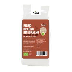 RIŽINO BRAŠNO INTEGRALNO -BIO- 500 g BIOLA