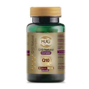 Q10 NATURAL COMPLEX KAPSULE 30×581 mg