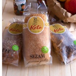 KATIN Bijeli SOFT kruh sa sezamom 270 g BEZ GLUTENA
