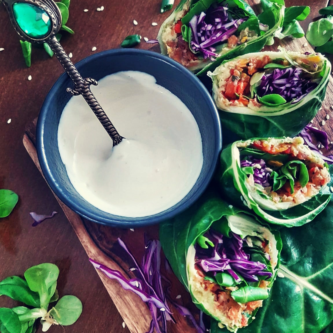 vegan raw wraps