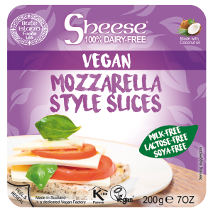 Veganski sir SLICED MOZZARELLA STYLE 200 g