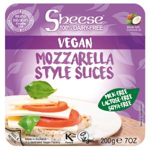 Veganski sir SLICED MOZZARELLA STYLE 200 g