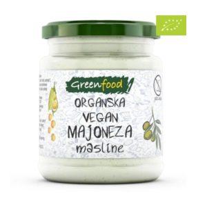 ORGANSKA VEGAN MAJONEZA SA MASLINAMA 260 g