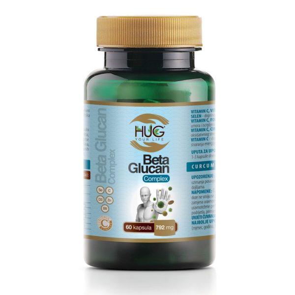 BETA GLUCAN COMPLEX KAPSULE 60 x792 mg