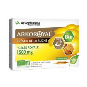 ARKOROYAL® GELÉE ROYALE BIO 1500 MG BIO Matična mliječ 1500 mg