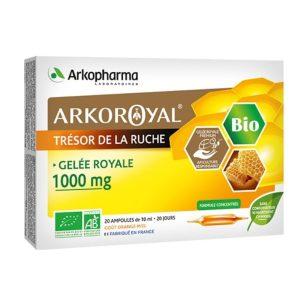 ARKOROYAL® BIO GELÉE ROYALE 1000 MG BIO Matična mliječ 1000 mg