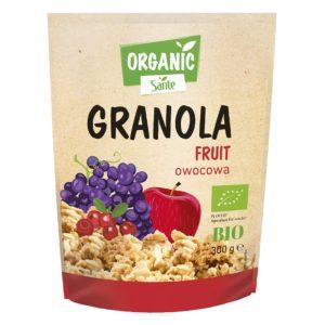 SANTE ORGANIC GRANOLA FRUIT 300 g