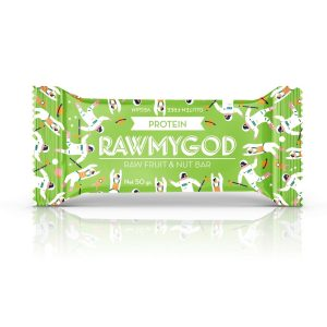 RAW MY GOD PLOČICA PROTEIN 50 g