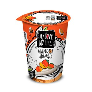 JOGURT BADEM-MANGO 180 g MYLOVE-MYLIFE
