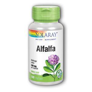 ALFALFA 100 kapsula 430 mg SOLARAY
