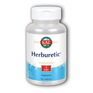 HERBURETIC 60 vegetarijanskih tableta KAL