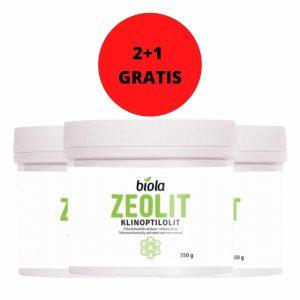 ZEOLIT 350 g BIOLA 2+1 GRATIS