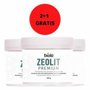 ZEOLIT 350 g PREMIUM BIOLA 2+1 GRATIS